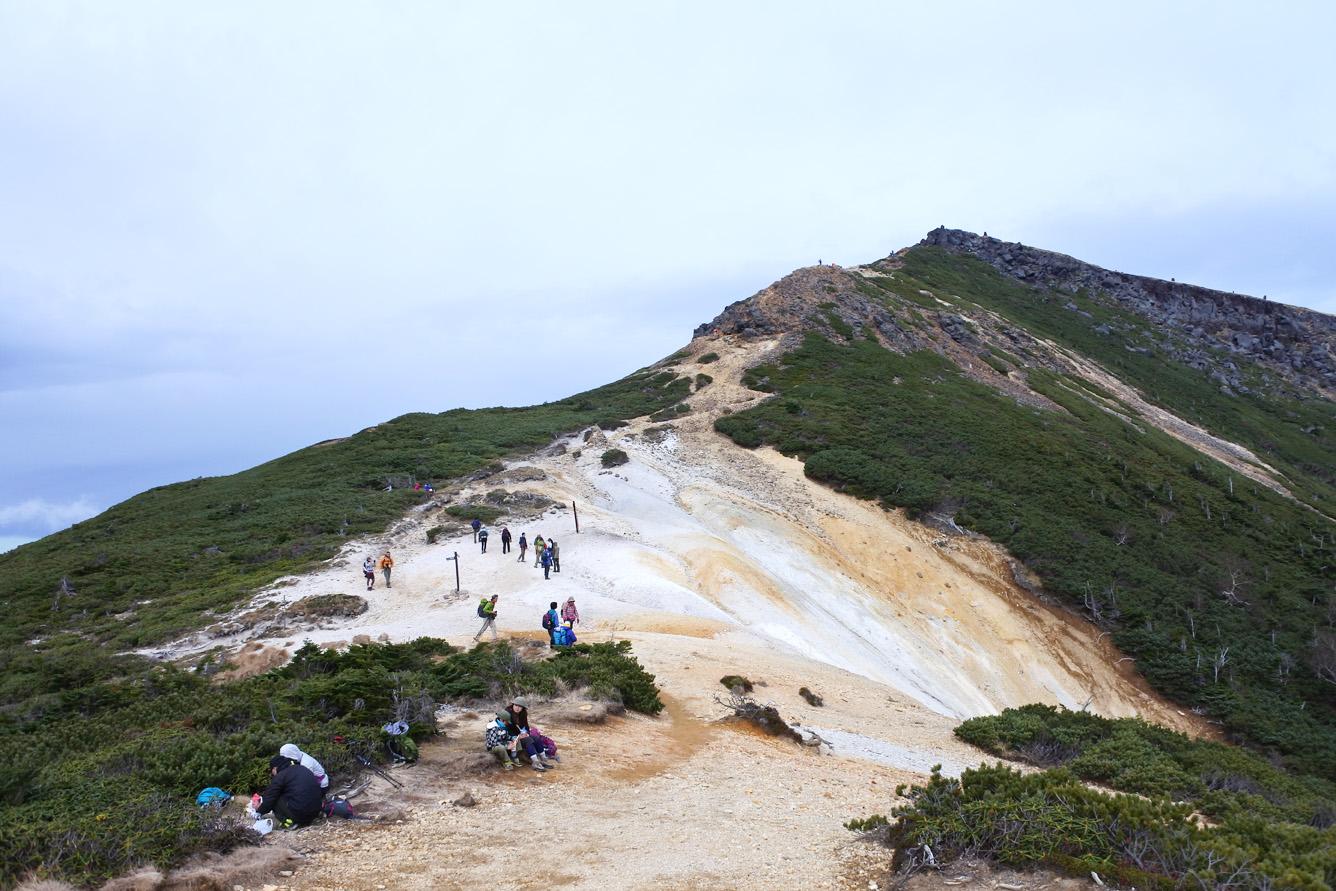 硫黄岳(いおうだけ)