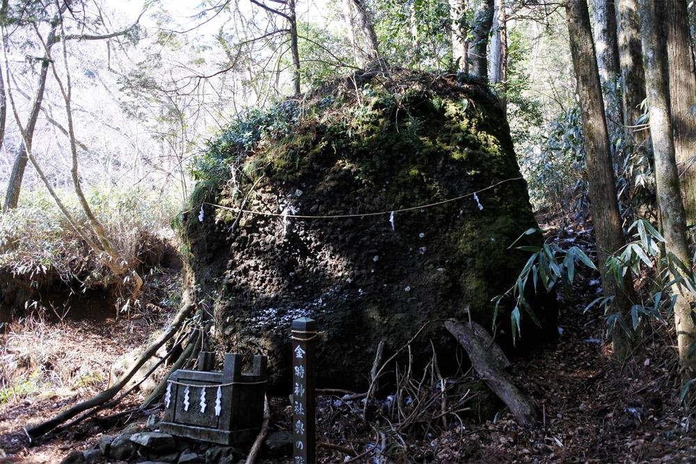 金時神社奥の院