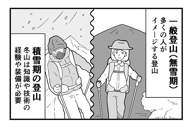 【登山マンガ】登山の種類は色々あるけど、登山って何だっけ?