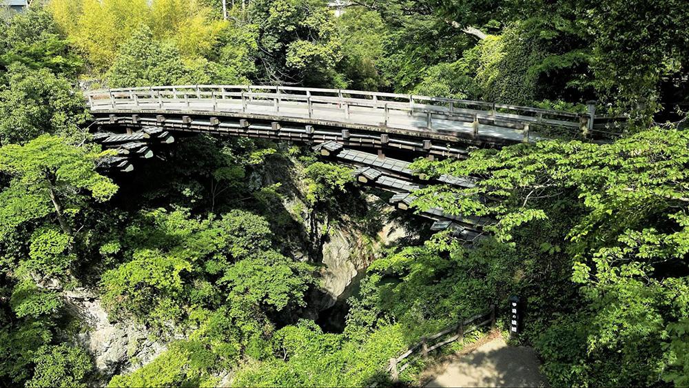 【百蔵山】富士山の展望と変化のあるトレイル、下山後は猿橋観光を楽しもう!