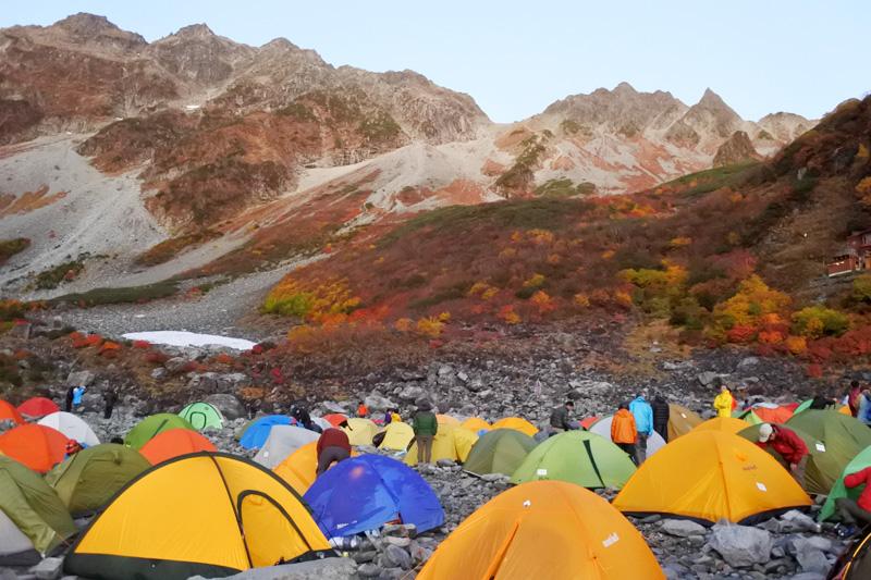 登山で使う寝袋(シュラフ)の選び方。対応温度や収納性をチェック!